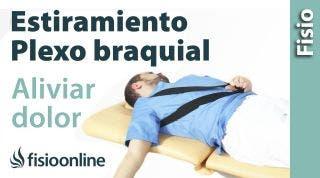 Estiramiento y movilización del plexo braquial.
