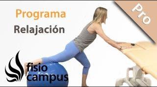 Ejercicio terapéutico. Relajación de tejidos para mejorar la movilidad.