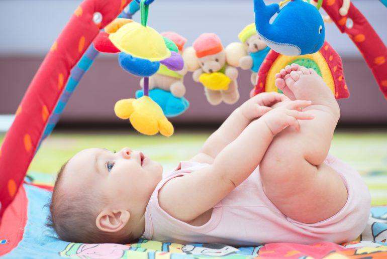Ejercicios de estimulación para el bebé 6 meses