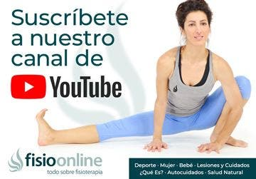 Suscríbete a nuestro canal de youtube FisioOnline